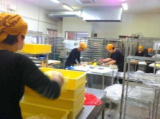 安心① 卵・乳製品を持ち込まない専用のパン工場で安心