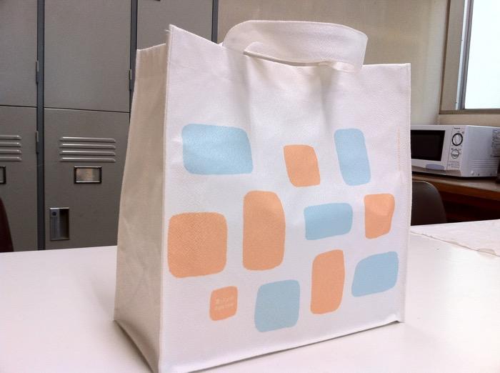 オリジナルショップバッグのプレゼント企画