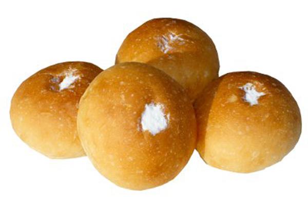 【ミニ】ホイップクリームパン(4個入り)【卵・乳アレルギー対応】