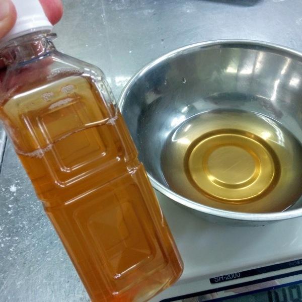 3ヶ月熟成させた「梅の発酵液」