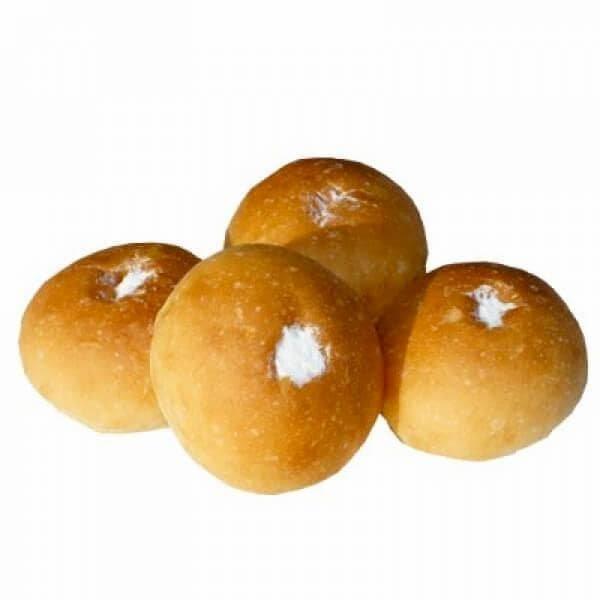 【ミニ】ホイップクリームパン (4個入り)【卵・乳アレルギー対応】