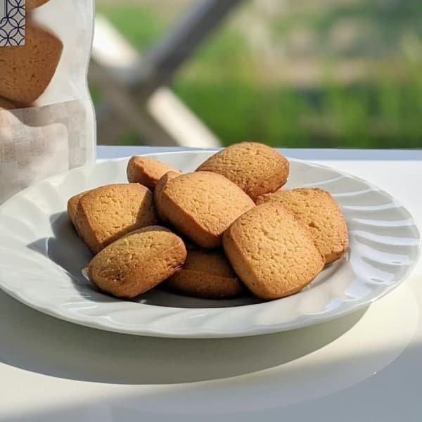 プレーンクッキー(12枚入り)【卵・乳アレルギー対応】