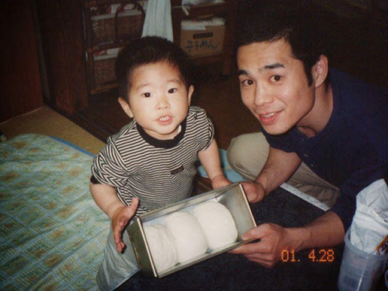 当時、息子は2歳でした。今では高校3年生に!あっという間に大きくなりました・・・(^_^;)