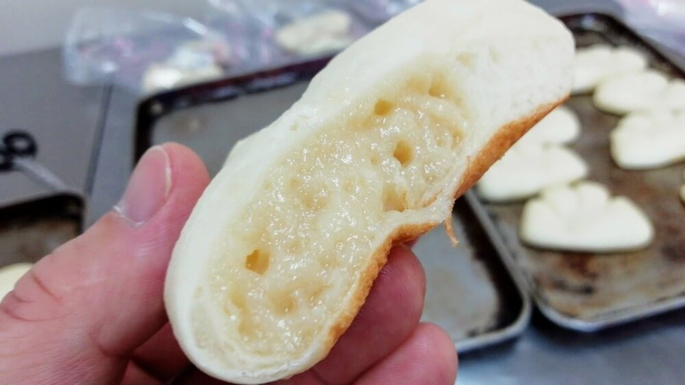 お豆腐屋さんが作った豆乳クリームパン【卵・乳アレルギー対応】