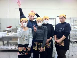 2012年3月。無事、アレルギー対応パン工場をオープン