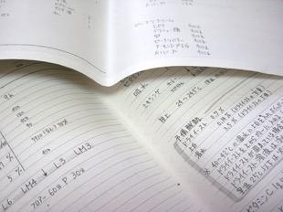 ポンパドゥル時代のレシピ帳