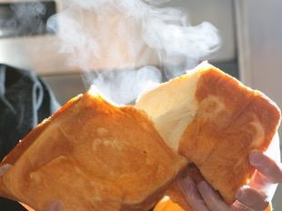 これが当店の食パン「tonton食パン」美味しさの原点です。