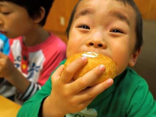 パンの召し上がり方について