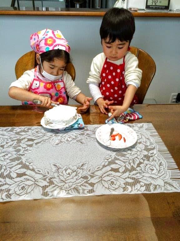 5歳のお姉ちゃんと一緒に楽しく作りました。