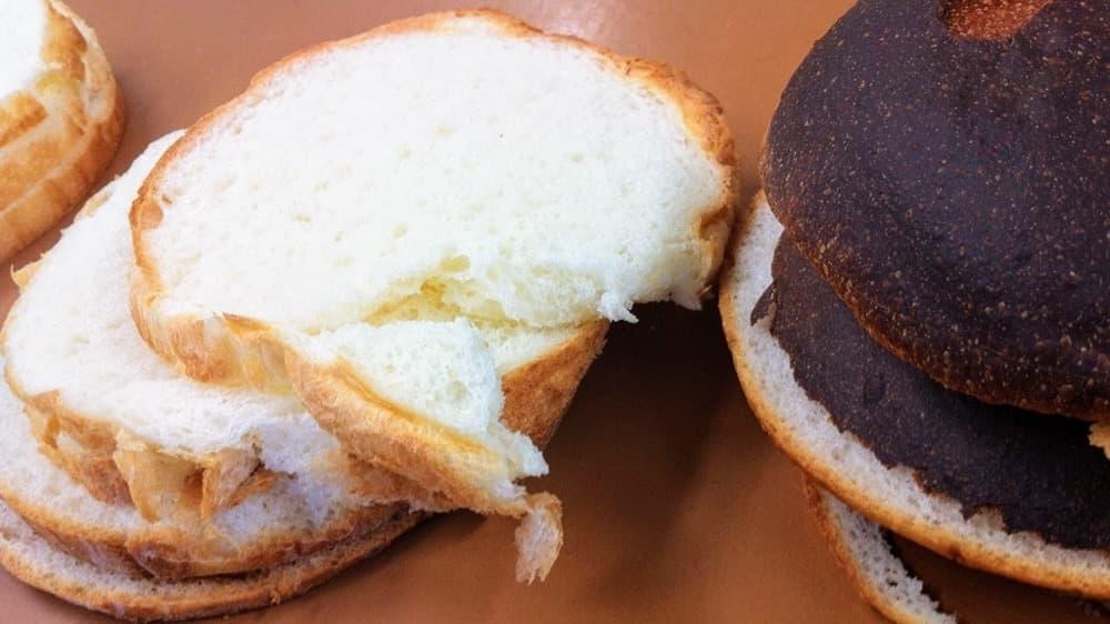 アレルギー対応スポンジケーキ風のパンが出来るまで