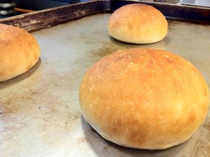 ハンバーガー用のパン (4個入り)【卵・乳アレルギー対応】