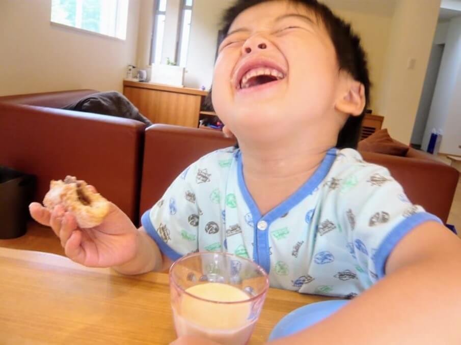 アレルギーがあって、今までパンが食べられなかった子供たちに!