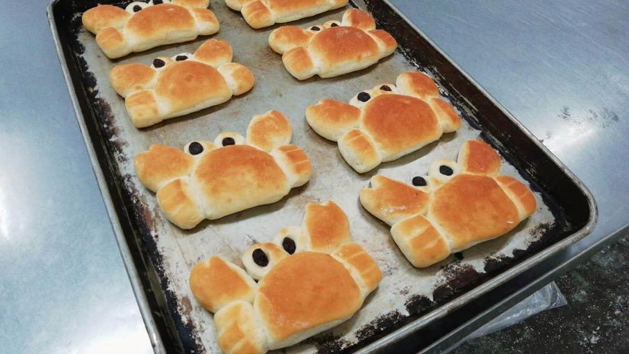 カニさんパン【卵・乳アレルギー対応】