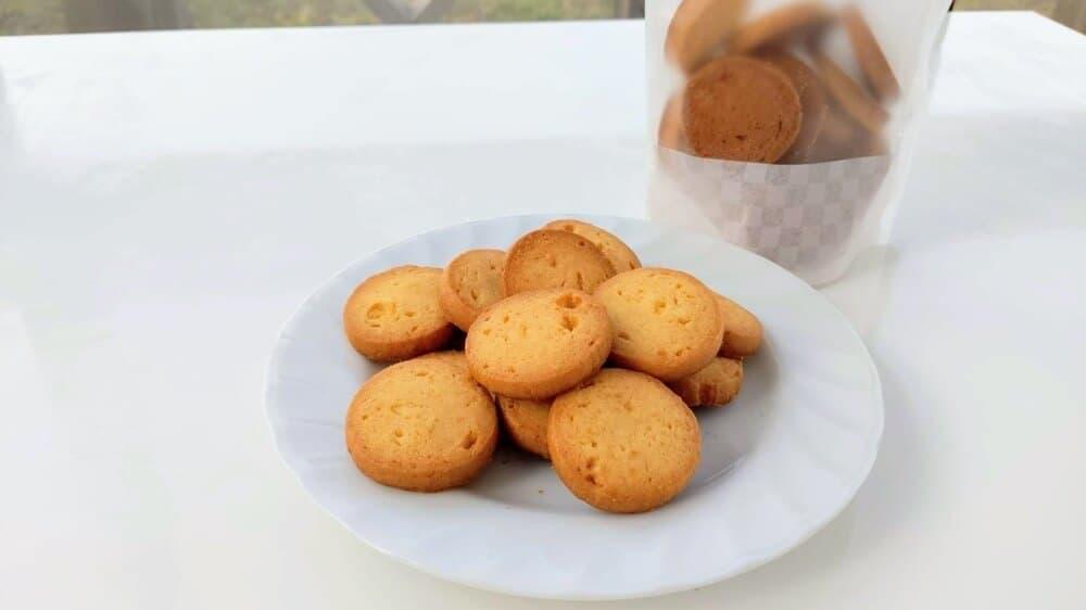 メープルクッキー【卵・乳アレルギー対応】
