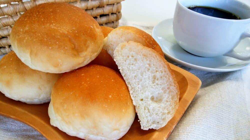 お子様ロール (8個入り)-卵・乳アレルギー対応パンのtonton
