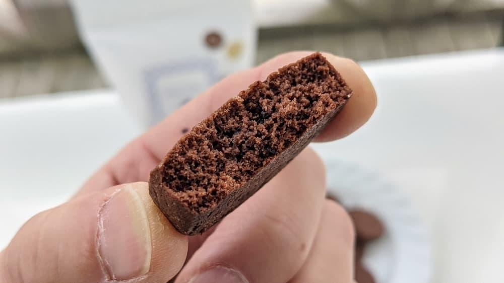 100袋限定商品:ココアチョコチップクッキー(12枚入り)【卵・乳アレルギー対応】