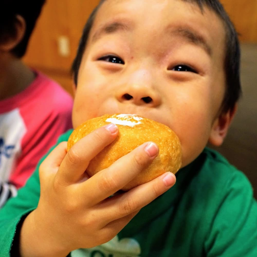 【ミニ】ホイップクリームパン (4個入り) | 子供が喜ぶお菓子セット【卵・乳アレルギー対応】