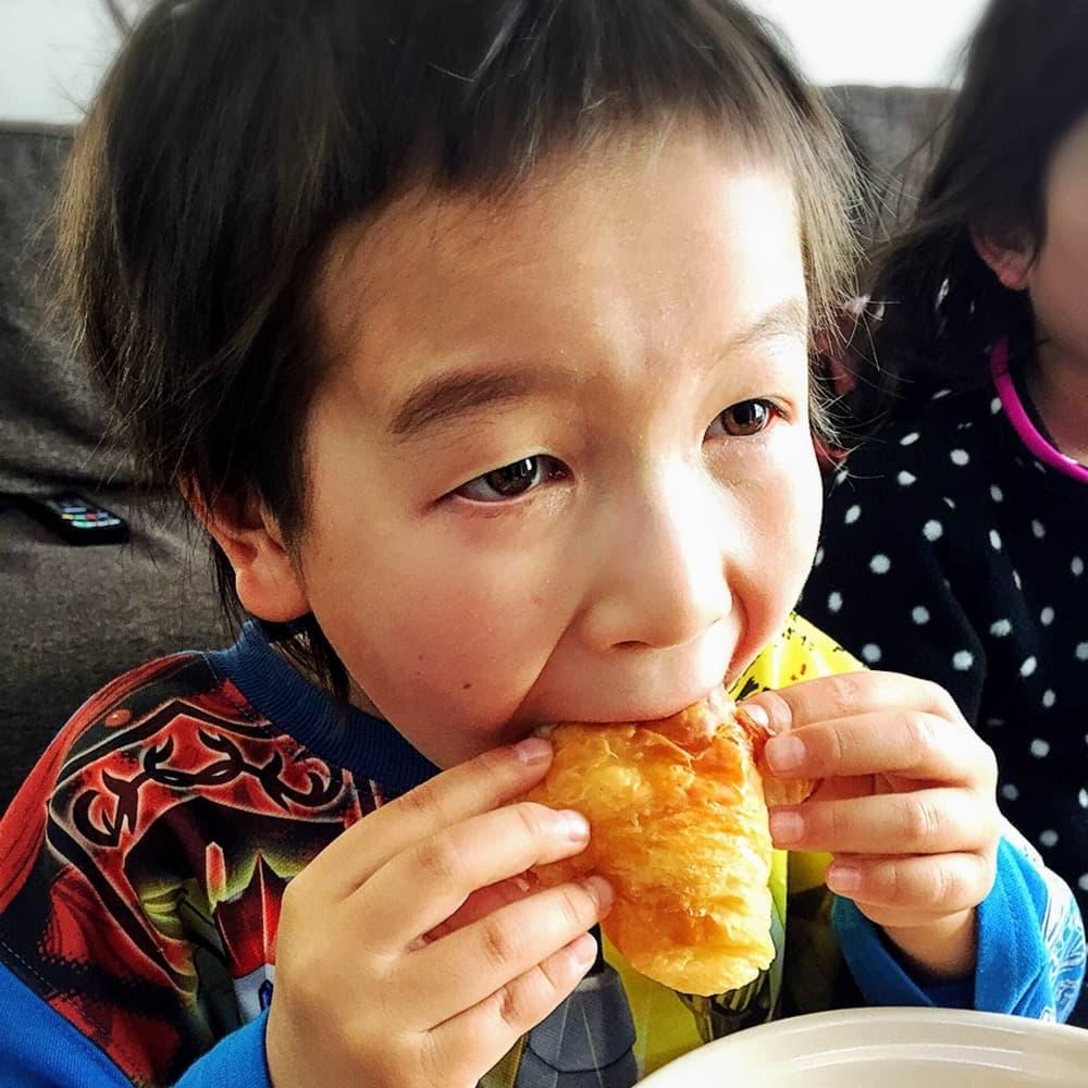 シュガークロワッサン (4個入り) | 子供が喜ぶお菓子セット【卵・乳アレルギー対応】