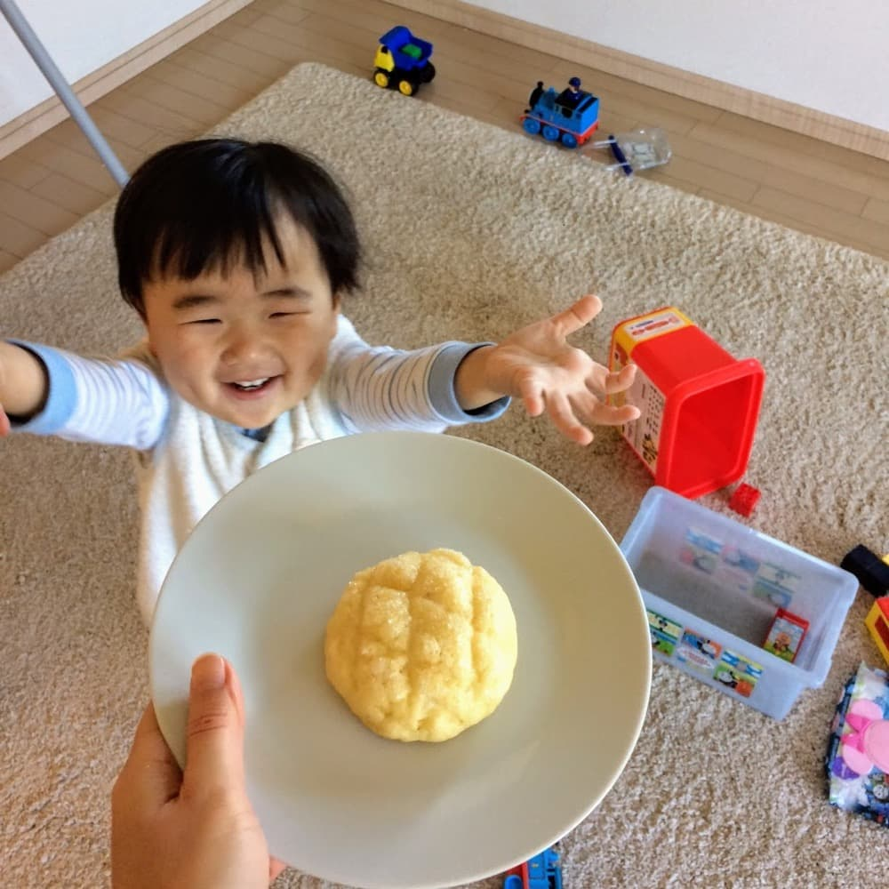【ミニ】メロンパン (4個入り) | 子供が喜ぶお菓子セット【卵・乳アレルギー対応】