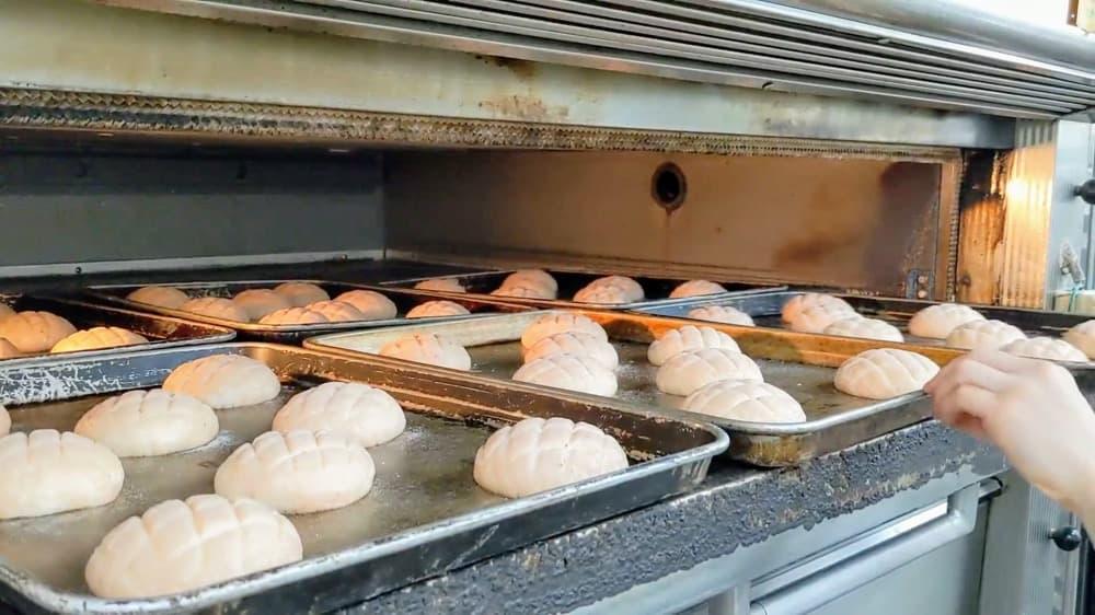 試作品:いちごのメロンパン【卵・乳アレルギー対応】 | 卵・乳アレルギー対応パンのtonton