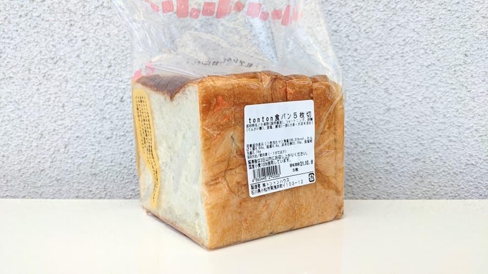 tonton食パン1斤 5枚切り